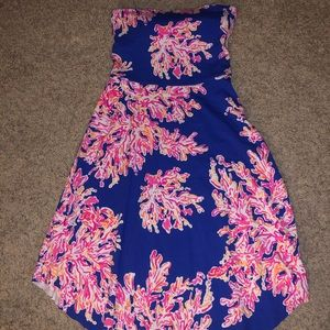 COPY - Lily Pulitzer strapless dress